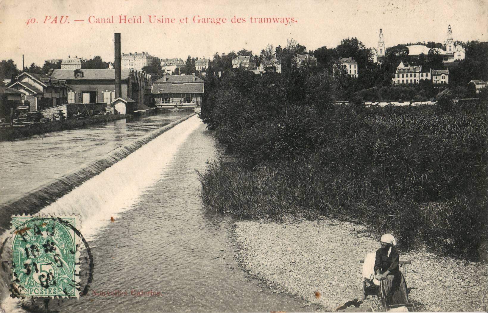 Pau capitale du b arn for Garage du canal frouzins